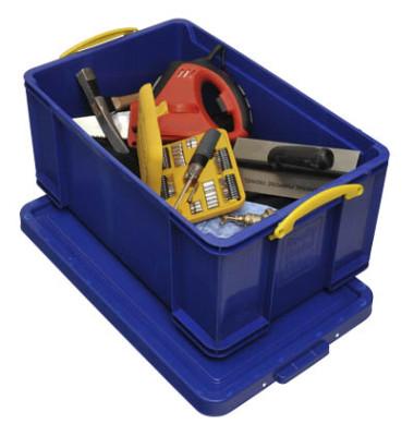 Aufbewahrungsbox blau 64 l 440 x 310 x 710mm