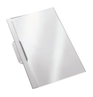Thermobindemappen 2,0mm Abheft Lasche A4 100 St. Weiß Transp. 15-20 Blatt
