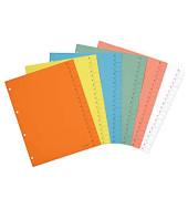 Trennblätter A4 blau 250g 100 Blatt