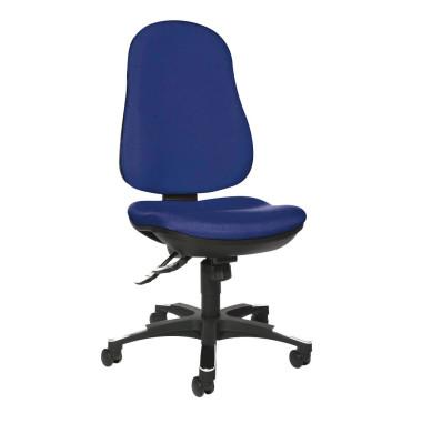 Bürodrehstuhl Trend SY 10 ohne Armlehnen blau