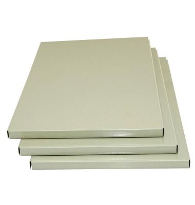 3 Zusatzböden grau passend für Spinde und Doppelspinde