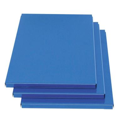 3 Zusatzböden blau passend für Spinde und Doppelspinde