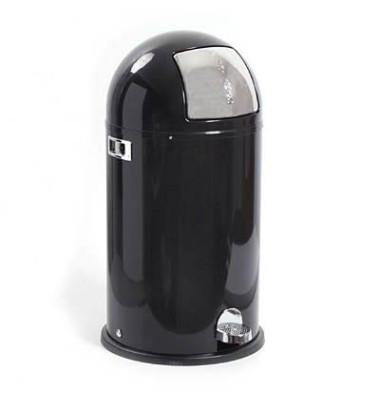 Abfallsammler Kickboy 40 Liter schwarz