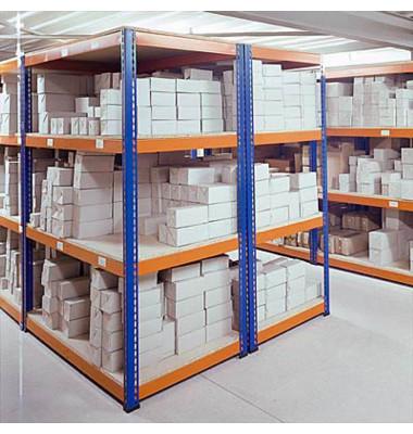 Weitspannregal 245,0 x 92,6 x 243,8 cm 4 Fachböden Tragkraft 500,0 kg