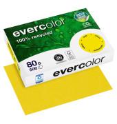 Evercolor 40031C gelb intensiv A4 80g Kopierpapier 500 Blatt