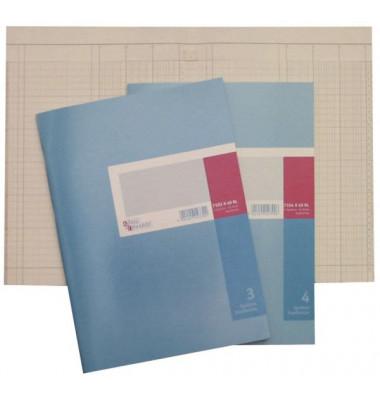 Spaltenbuch A4 3 Spalten 40Bl kartoniert