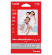 Inkjet-Fotopapier 10x15cm GP-501 einseitig hochglänzend 170g 100 Blatt