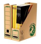 Archiv-Stehsammler 4470001 Earth Series 82x268x304mm A4 Pappe natronbraun