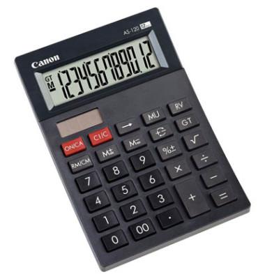 Tischrechner-Mini- AS-120/4582B001 schwarz