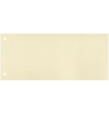 Trennstreifen chamois 190g gelocht 240x105mm 100 Blatt
