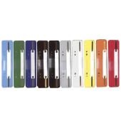 Heftstreifen kurz PP farbig sortiert 34x150mm 10x 25 Stück