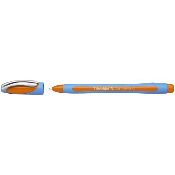 Schneider slider memo xb hellblau orange kugelschreiber 1 4mm for Schneider versand privatkunden