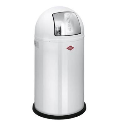 Abfallsammler Pushboy 50 Liter weiß