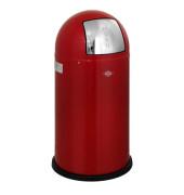 Abfallsammler Pushboy 50 Liter rot