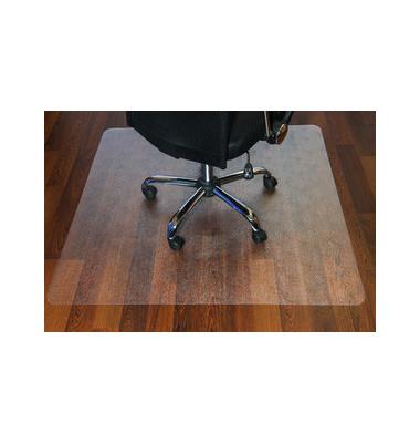 Bodenschutzmatte 120 x 150 cm Form O für Hartböden transparent PC