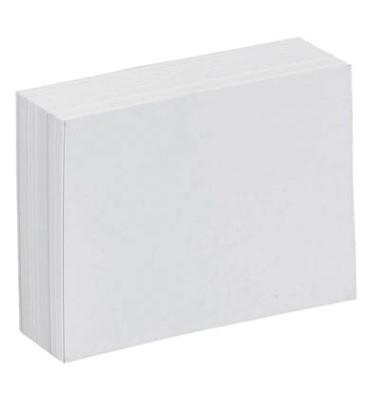 Karteikarten A7 blanko 190g weiß 100 Stück