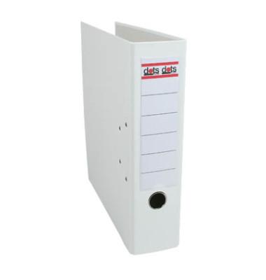 Ordner A4 weiß 80mm breit