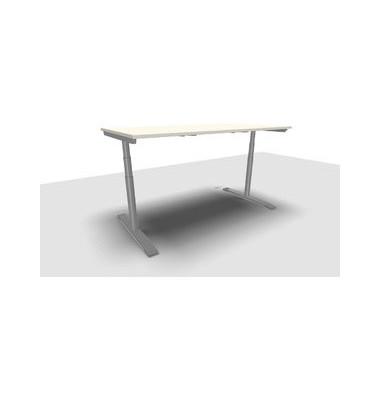 Schreibtisch Jump Move TR0022-4G3PGW3W3D000T1U0M ergonomisch weiß rechteckig 180x90 cm (BxT) elektrisch höhenverstellbar