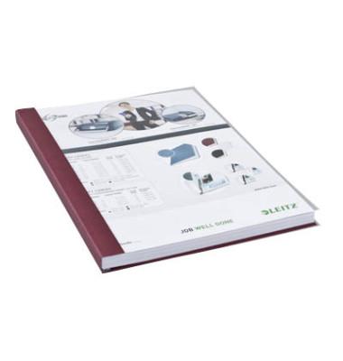 Buchbindemappen impressBind SoftCover A4 bordeaux 14mm 106-140 Blatt 10 Stück
