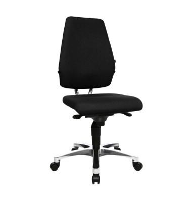 Bürodrehstuhl Body Balance S30 ohne Armlehnen schwarz