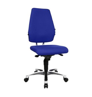 Bürodrehstuhl Body Balance S30 ohne Armlehnen blau