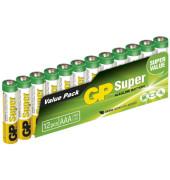 Batterie Super Micro / LR03 / AAA 12 Stück