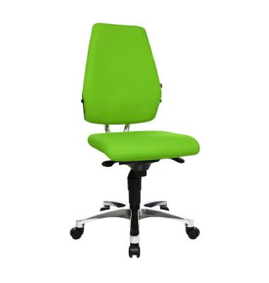Bürodrehstuhl Body Balance S30 ohne Armlehnen grün
