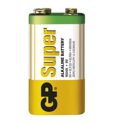 Batterie Super E-Block / 6LR61 / 9V-Block