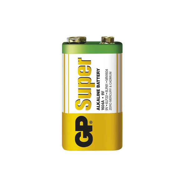 GP Batterie Super E-Block / 6LR61 / 9V-Block