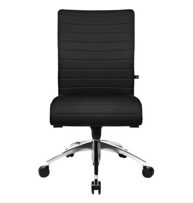 Bürodrehstuhl Step ohne Armlehnen schwarz