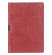 Klemmmappe A4 rot für 30 Blatt 25 Stück