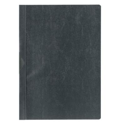 Klemmhefter A4 schwarz für 30 Blatt 25 Stück