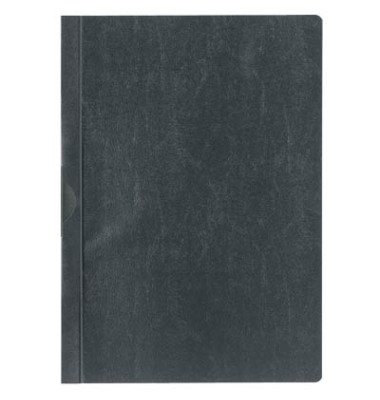 Klemmmappe A4 schwarz für 30 Blatt 25 Stück