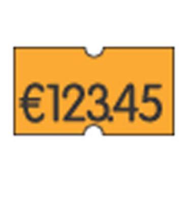 Preisetiketten 70-36A-0-032, 21,6x12mm, leuchtorange permanent, 54.000 Etiketten