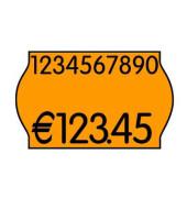 Preisetiketten 70-21M-0-032, 26x16mm, leuchtorange permanent, 14.400 Etiketten