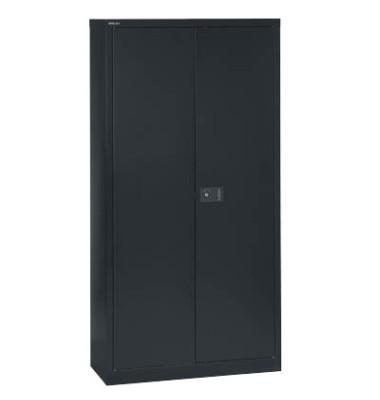 Aktenschrank Universal E722A03433, Stahl abschließbar, 4 OH, 91,4 x 180,6 x 40 cm, schwarz