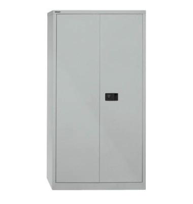 Aktenschrank Universal E722A03855, Stahl abschließbar, 4 OH, 91,4 x 180,6 x 40 cm, silber