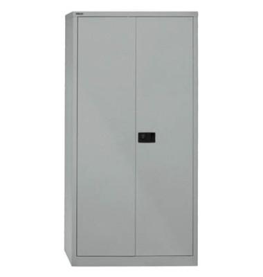 Aktenschrank Universal E782A04855, Stahl abschließbar, 5 OH, 91,4 x 195 x 40 cm, silber