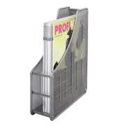 Stehsammler 17700 Meshline 90x275x350mm A4 Metall silber