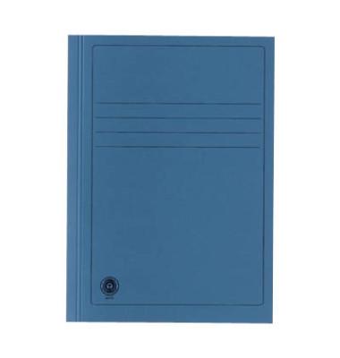 Aktendeckel 389007PRISB A4 RC-Karton 250g blau