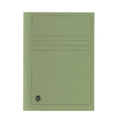 Aktendeckel 389025PRISB A4 RC-Karton 250g grün