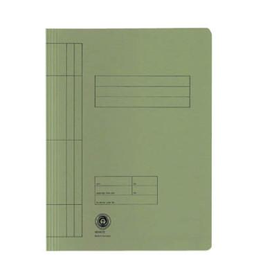 Schnellhefter 3897 A4 grün 250g Karton kaufmännische Heftung / Amtsheftung bis 150 Blatt 20 Stück