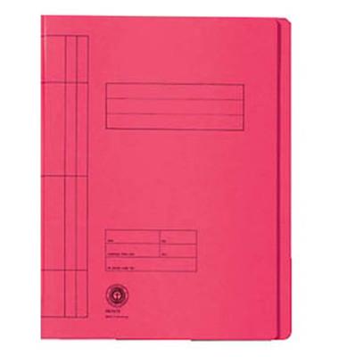 Schnellhefter 3897 A4 rot 250g Karton kaufmännische Heftung / Amtsheftung bis 150 Blatt 20 Stück
