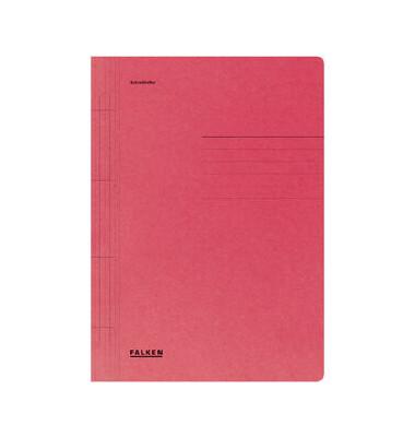 Schnellhefter 80000 A4 rot 250g Karton kaufmännische Heftung / Amtsheftung