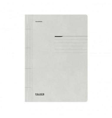 Schnellhefter 80000 A4 grau 250g Karton kaufmännische Heftung / Amtsheftung