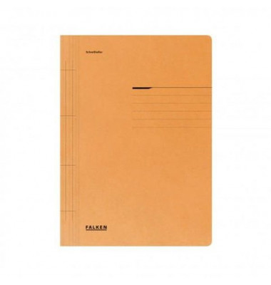 Schnellhefter 80000 A4 orange 250g Karton kaufmännische Heftung / Amtsheftung