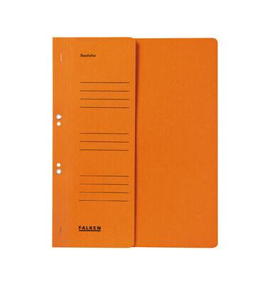 Ösenhefter A4 orange 1/2 Vorderdeckel