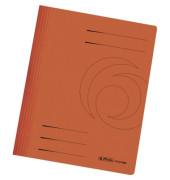 Schnellhefter 10902 A4 orange 240g Karton kaufmännische Heftung / Amtsheftung