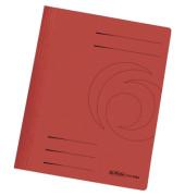 Schnellhefter 10902 A4 rot 240g Karton kaufmännische Heftung / Amtsheftung
