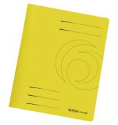 Schnellhefter 10902 A4 gelb 240g Karton kaufmännische Heftung / Amtsheftung